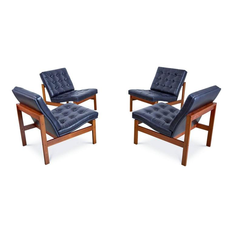 France & Son Moduline Living Room Set by Ole Gjerløv-Knudsen & Torben Lind For Sale 1