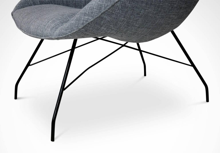 Mid-20th Century Martin Eisler and Carlo Hauner Scoop Chairs for Forma, Brazil, circa 1960