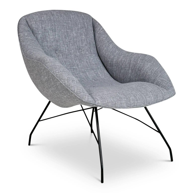 Martin Eisler and Carlo Hauner Scoop Chairs for Forma, Brazil, circa 1960 2