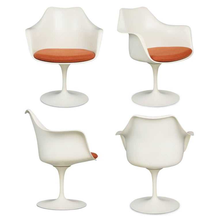 Loro piana alpaca wool 39 womb 39 chair by eero saarinen for for Knoll associates