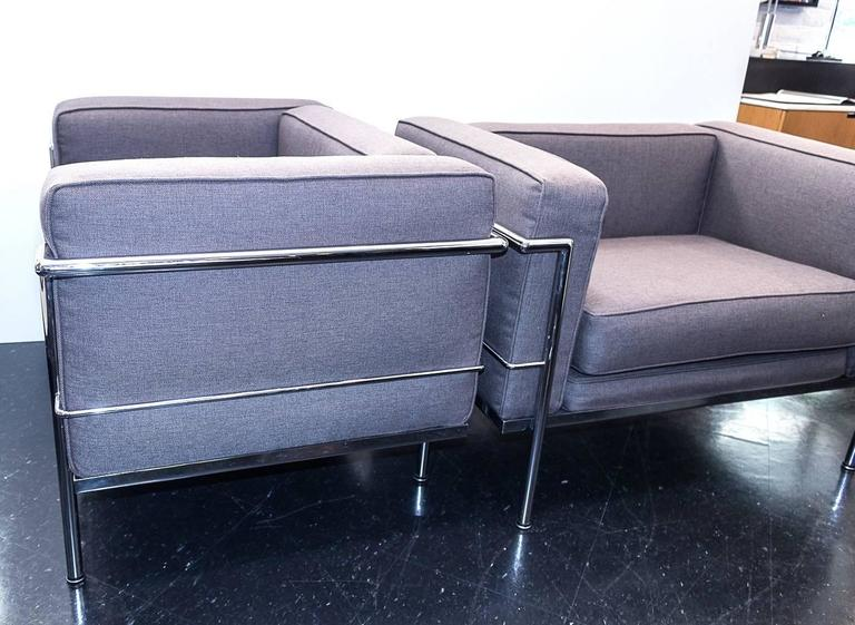 Vintage wassily chair by marcel breuer for knoll international for - Le Corbusier Style Lc3 Chairs At 1stdibs