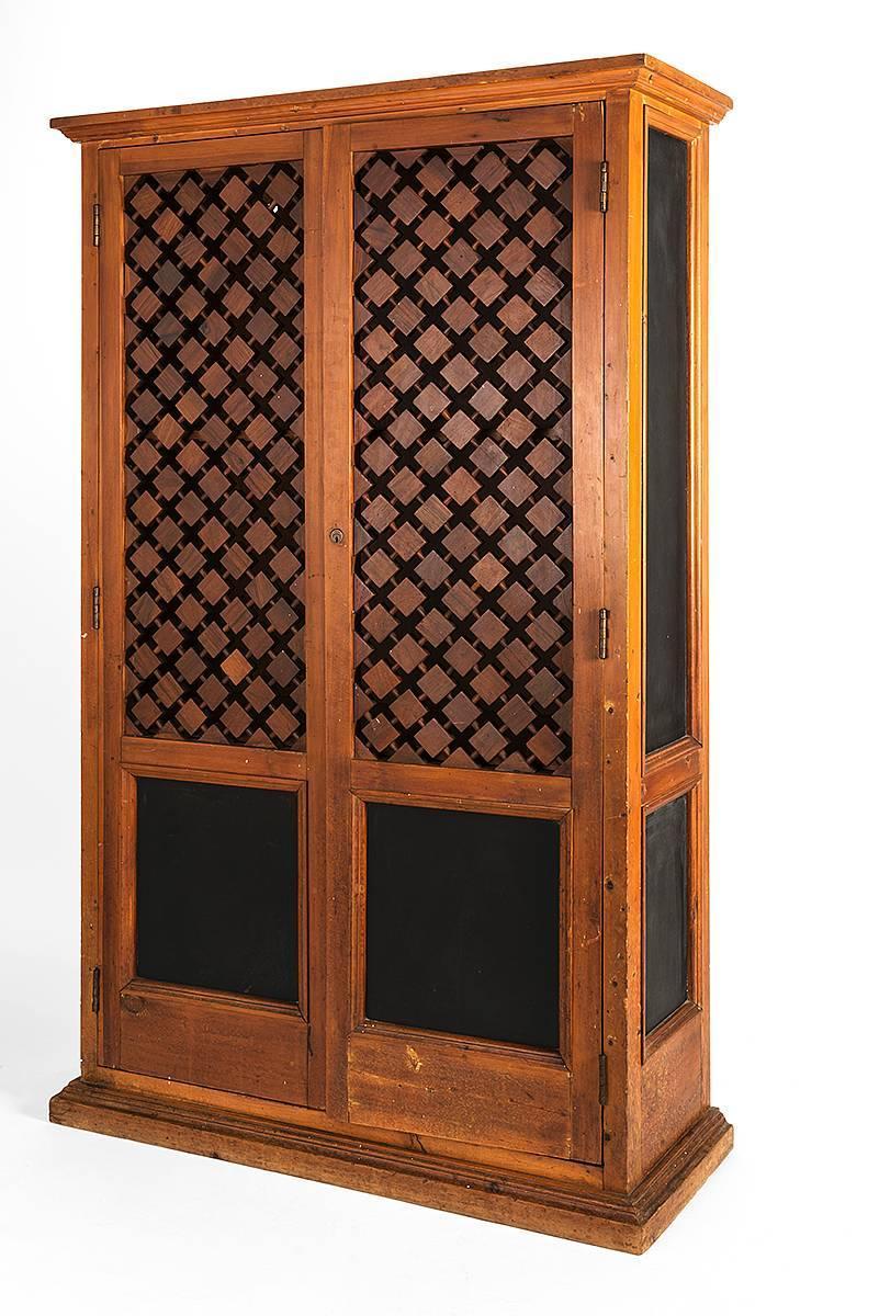 alejandro rangel hidalgo leather inset cabinet for sale at 1stdibs