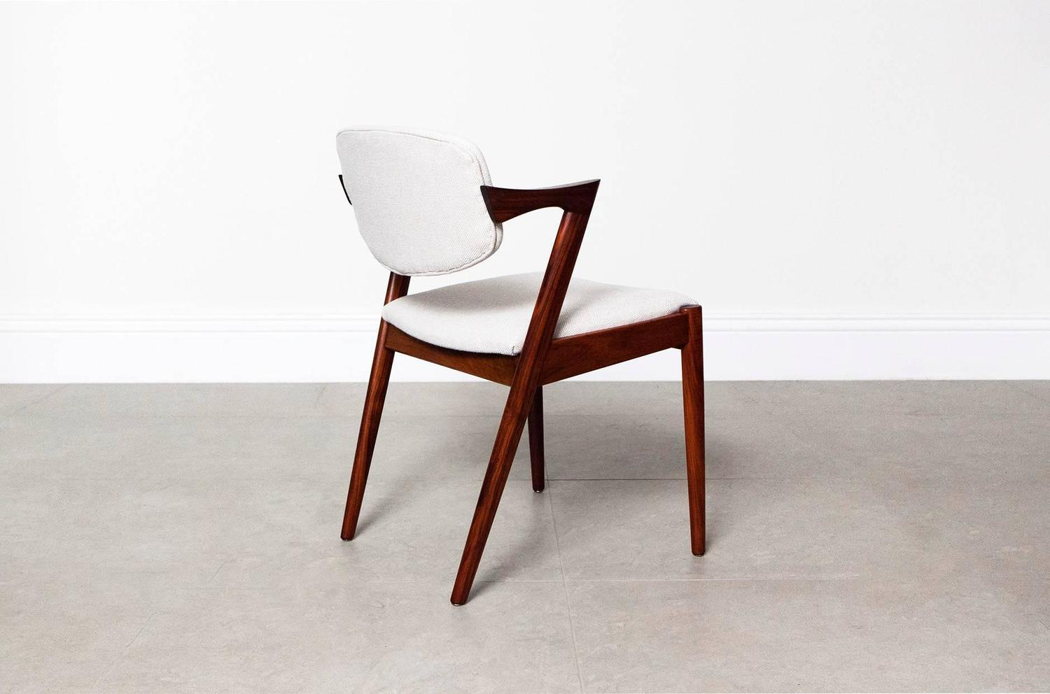 Kai Kristiansen Model 42 Dining Chairs At 1stdibs