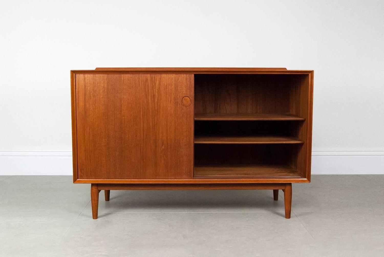 arne vodder danish teak sideboard at 1stdibs. Black Bedroom Furniture Sets. Home Design Ideas