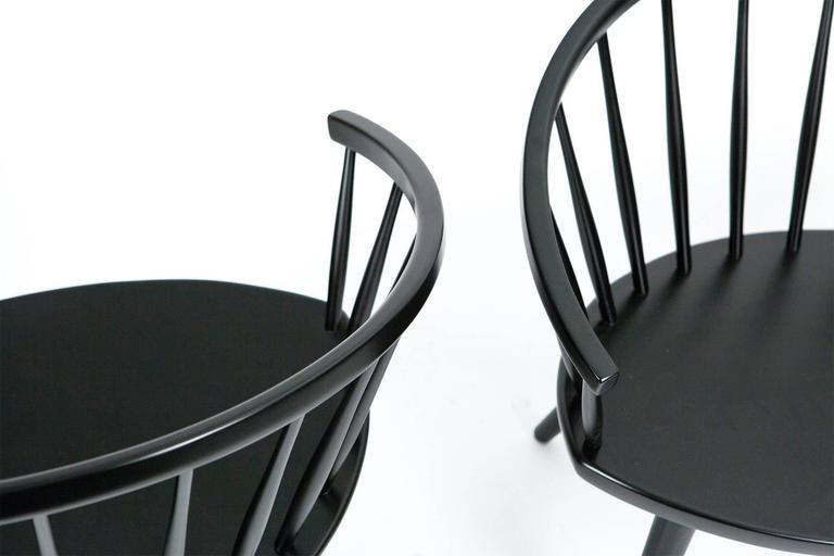 Swedish Yngve Ekström Arka Chairs, circa 1955