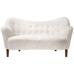 Slagelse Mobelvaerk Model 185 Sofa