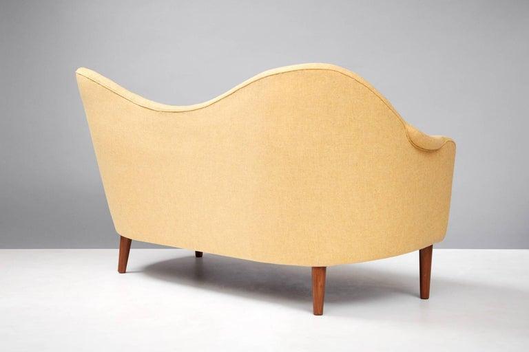 Scandinavian Modern Sampsel Sofa by Carl Malmsten, 1956 For Sale