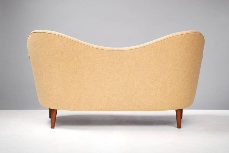 Swedish Sampsel Sofa by Carl Malmsten, 1956 For Sale