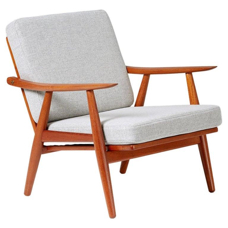 Hans Wegner GE-270 Lounge Chair, 1956 For Sale