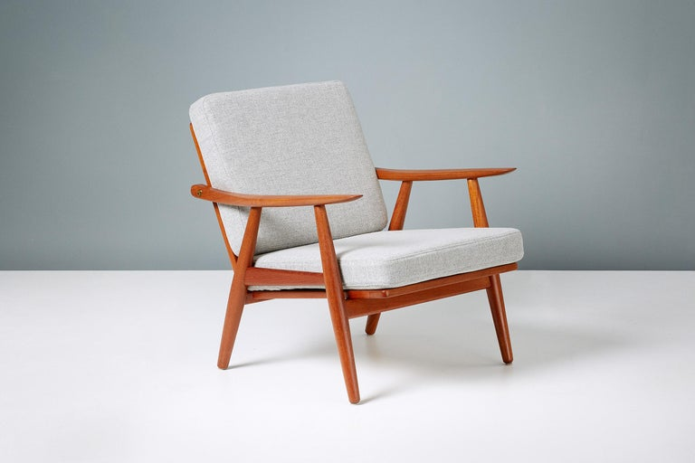 Danish Hans Wegner GE-270 Lounge Chair, 1956 For Sale