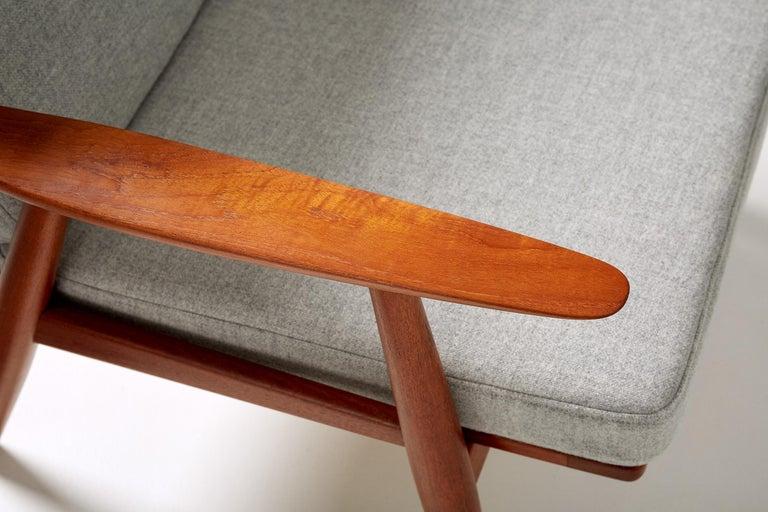 Hans Wegner GE-270 Lounge Chair, 1956 For Sale 3