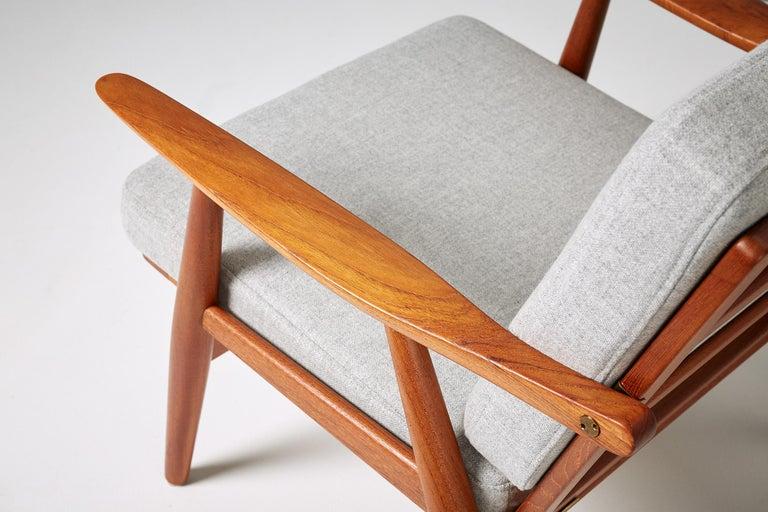 Hans Wegner GE-270 Lounge Chair, 1956 For Sale 2