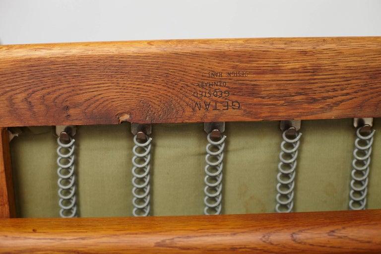 Hans Wegner GE-240 Oak Cigar Chair For Sale 2