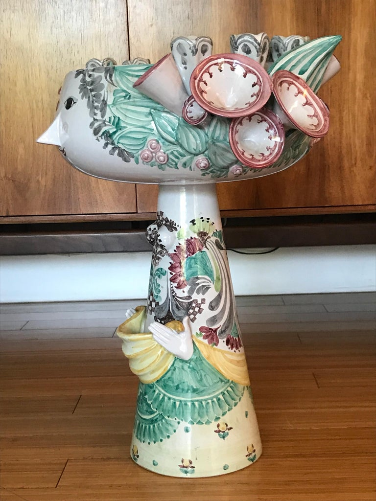 Bjorn Wiinblad Large Decorative Ceramic Sculpture For Sale 1