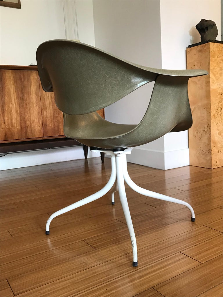George Nelson Swag Leg Accent Chair, Herman Miller, 1950s For Sale ...