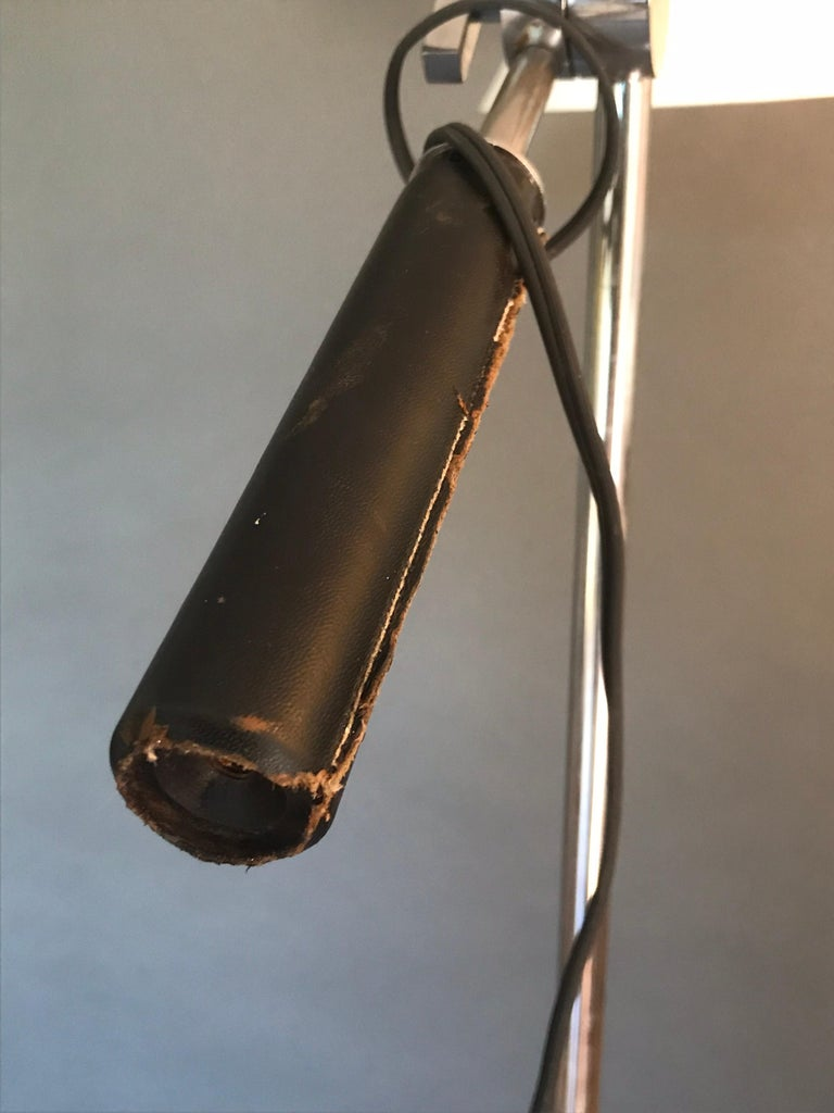 20th Century Architectural One Arm Lamp  For Sale