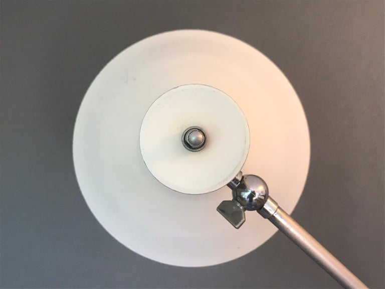 Architectural One Arm Lamp  For Sale 7