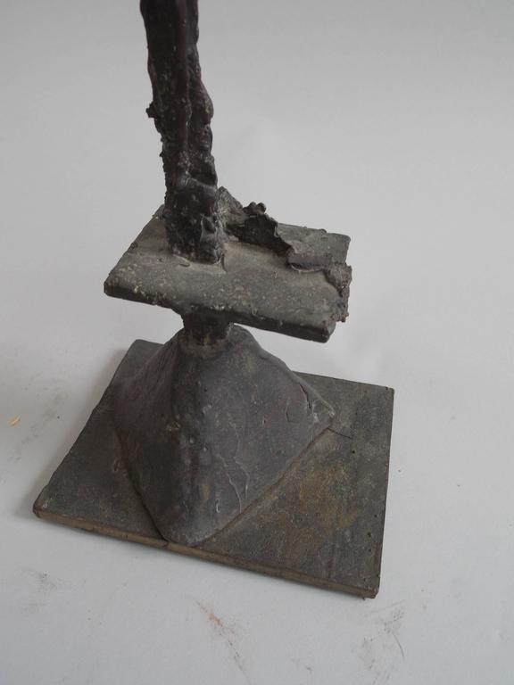 Metalwork Modern Art Bronze Sculpture For Sale