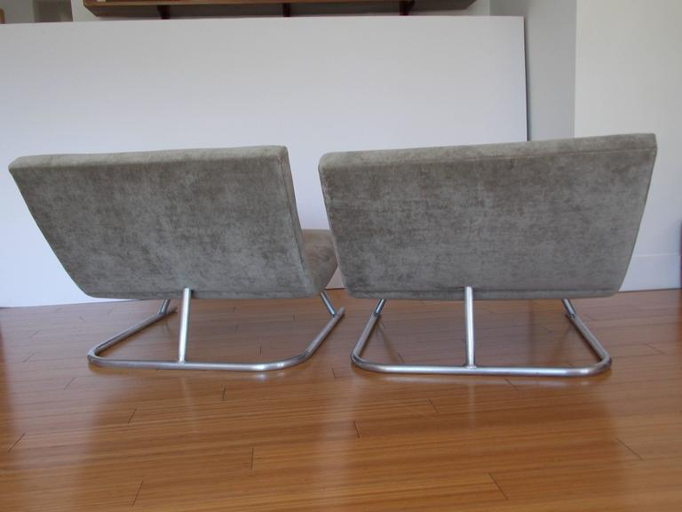 Pair of Low Lounge Chairs, 1960's 6