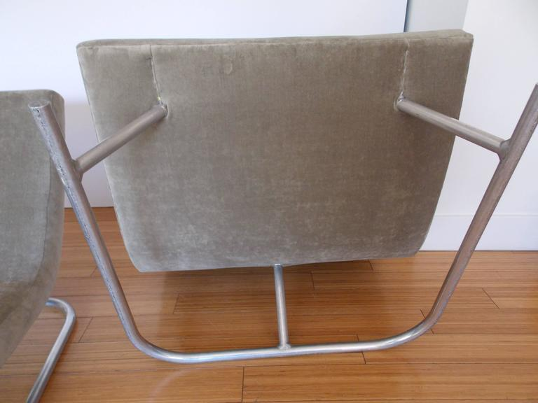 Pair of Low Lounge Chairs, 1960's 8