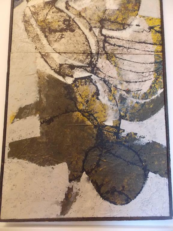 American Don Schweikert Abstract Expressionist Painting, 1968 For Sale