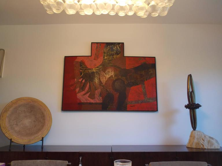 Don Schweikert Abstract Expressionist Painting, 1960s For Sale 2