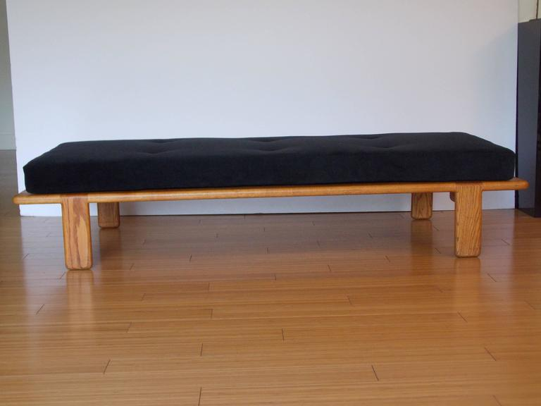 Modern Gerald McCabe Bench or Daybed California Design For Sale