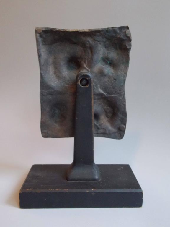 American  Modern Art Bronze Sculpture  For Sale