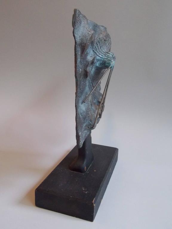 Mid-20th Century  Modern Art Bronze Sculpture  For Sale