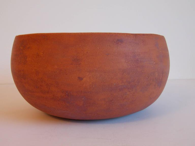 John Follis Terra Cotta Bowl For Architectural Pottery