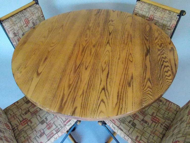 Cleo Baldon California Design Dinette Table and Chairs 7