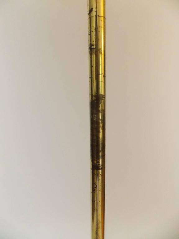Brass Art Easel Lamp Arredoluce Italy At 1stdibs