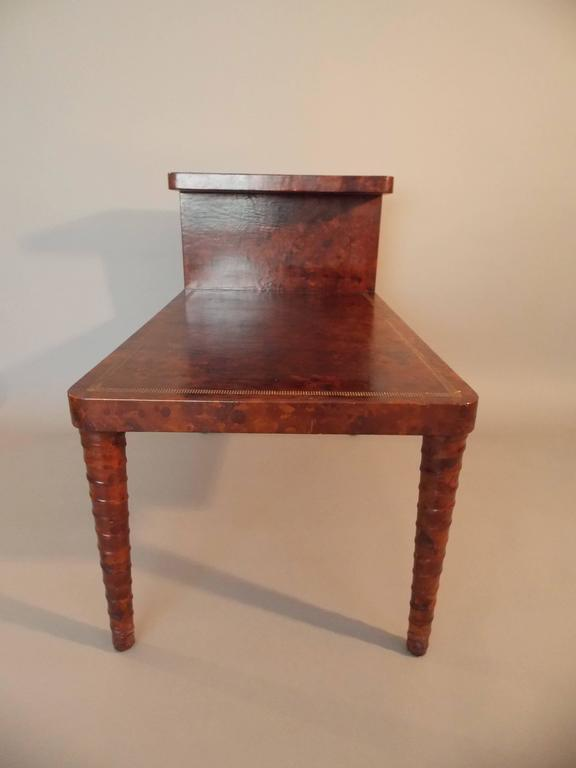 William Billy Haines Leather Table For Sale 2