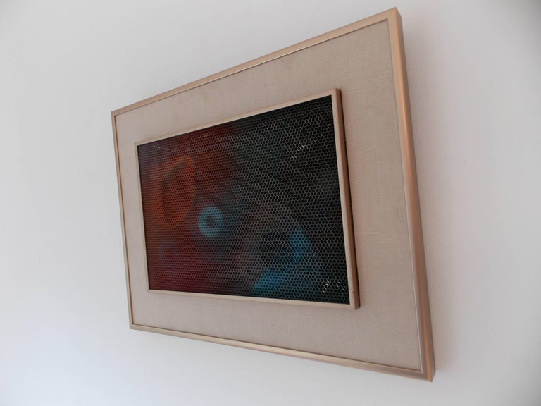 Max Finkelstein Modern Op Art Painting 2