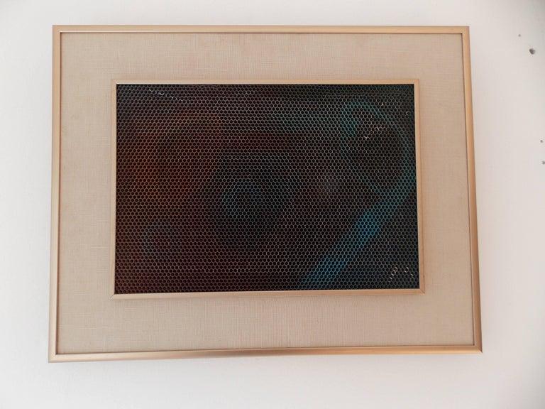 Max Finkelstein Modern Op Art Painting 3