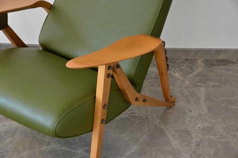 Mid-Century Modern Carlo Mollino Lounge Chair For Sale