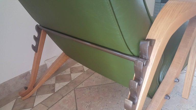 Carlo Mollino Lounge Chair In Good Condition For Sale In Castenray, NL