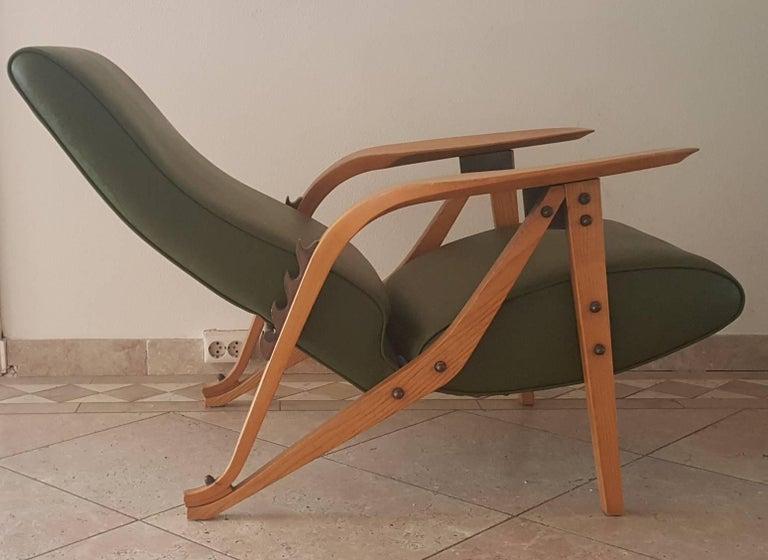 European Carlo Mollino Lounge Chair For Sale