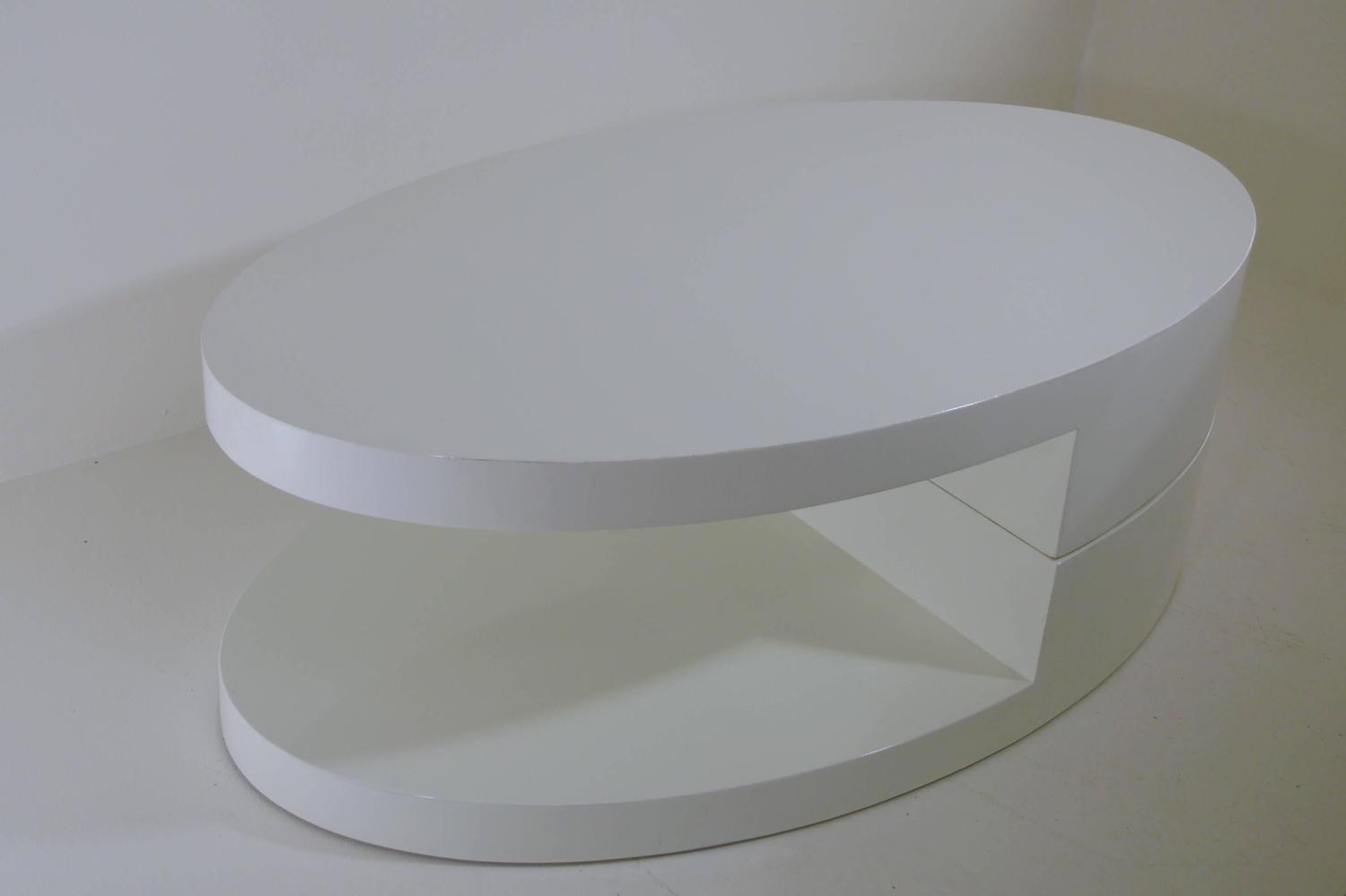 Rotating coffee table in the manner of gabriella crespi for Table header rotate th rotate 45