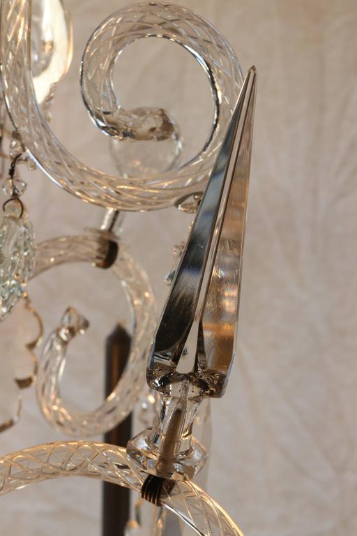 One Of A Pair Beautiful Chandeliers From Liege Created By