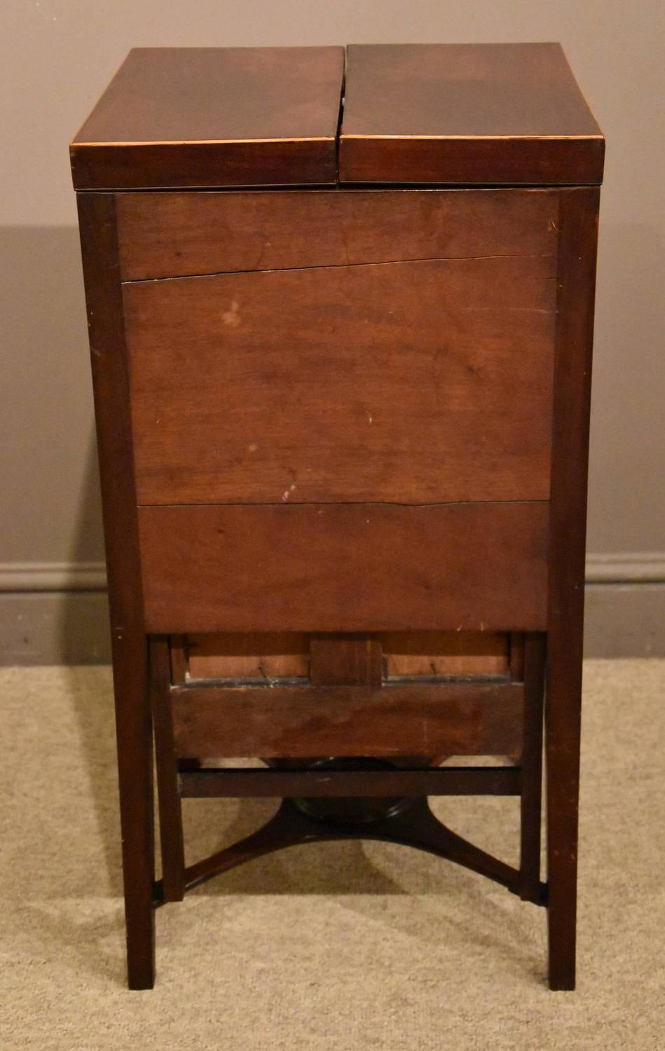 Superb Quality George Iii Mahogany Gentleman 39 S Wash Stand For Sale At 1stdibs