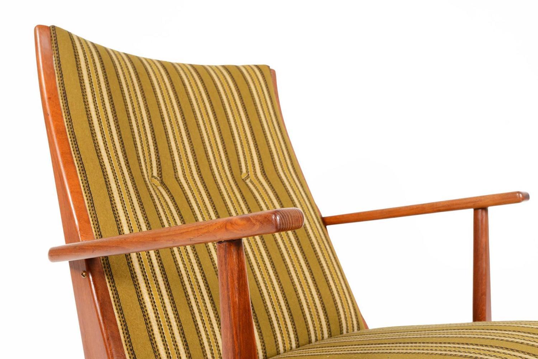 Holger Georg Jensen Teak Model 97 Rocking Chair at 1stdibs