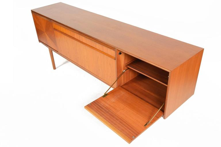 Credenza Perth : Large teak starburst credenza by a.h. mcintosh at 1stdibs