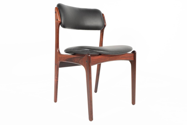 Set Of Four Erik Buck Rosewood Dining Chairs At 1stdibs
