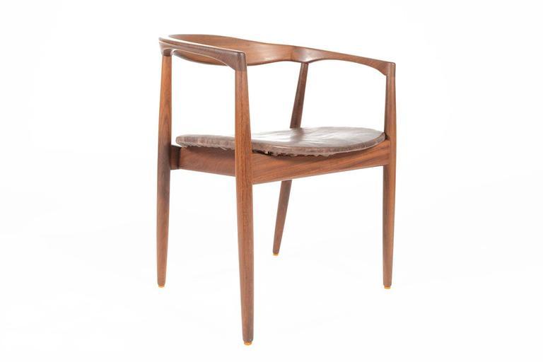 This Danish Modern Mid Century Side Chair Was Designed By Kai Kristiansen  For Magnus Olesen In