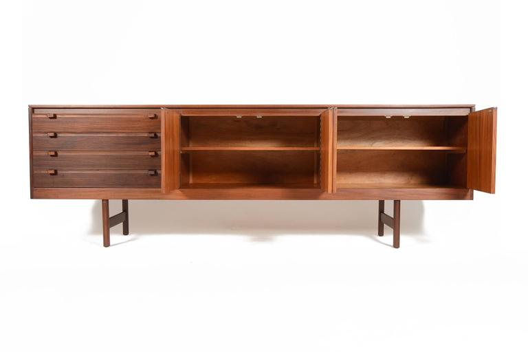 Beautiful This English Modern Mid Century Large Teak Credenza Was Designed By Robert  Heritage And Manufactured By
