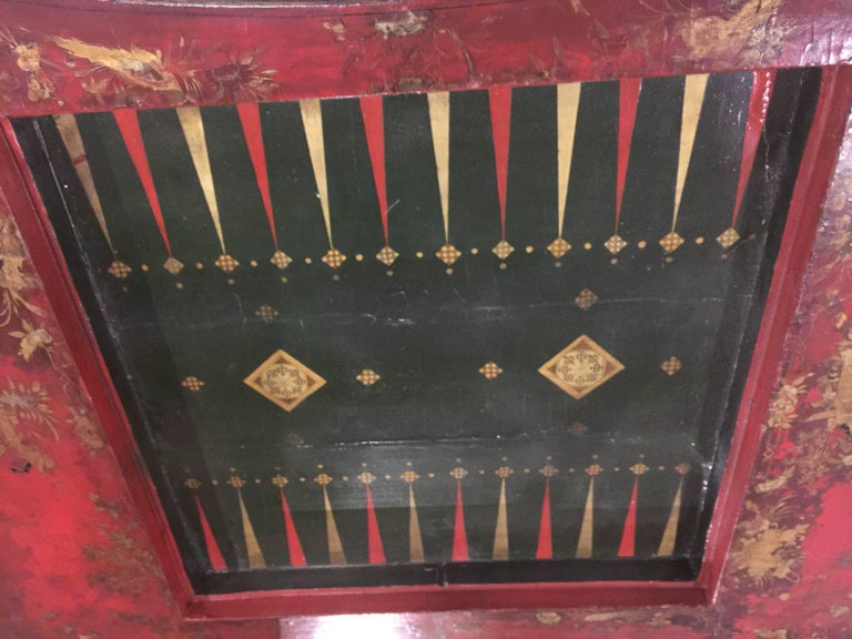 19th Century Chinoiserie Game Table For Sale 4