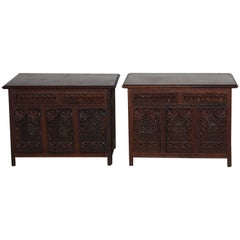 Pair of Indian End Table
