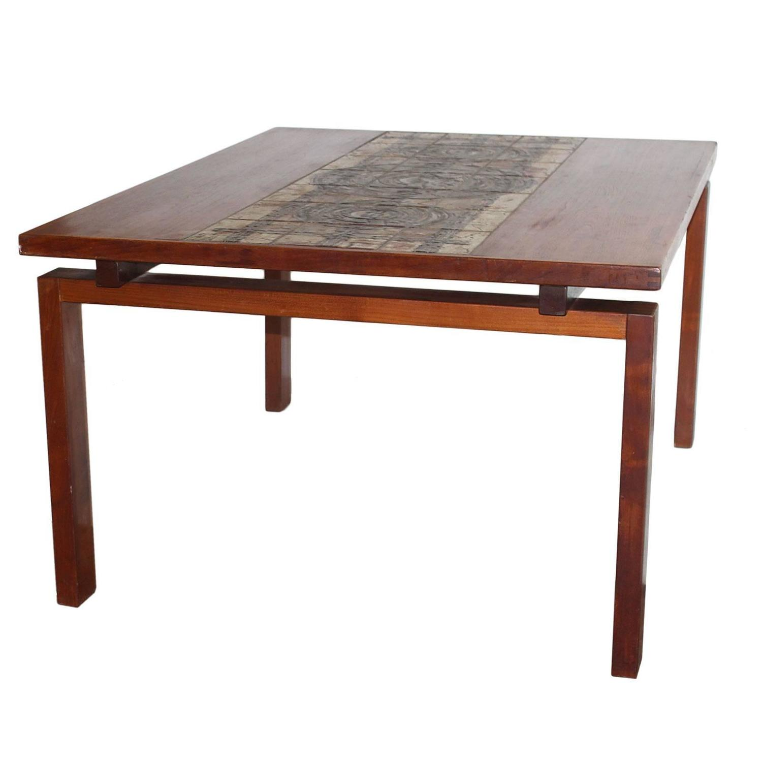 Teak Dining Table By Ox Art For Sale At 1stdibs