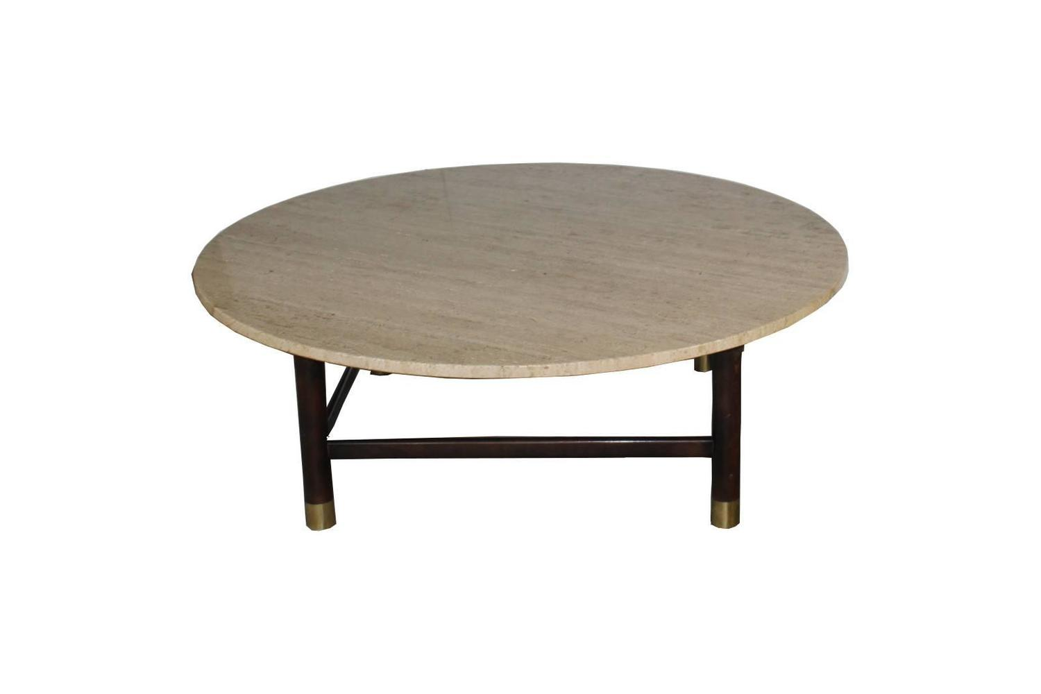 Travertine Coffee Table For Sale At 1stdibs